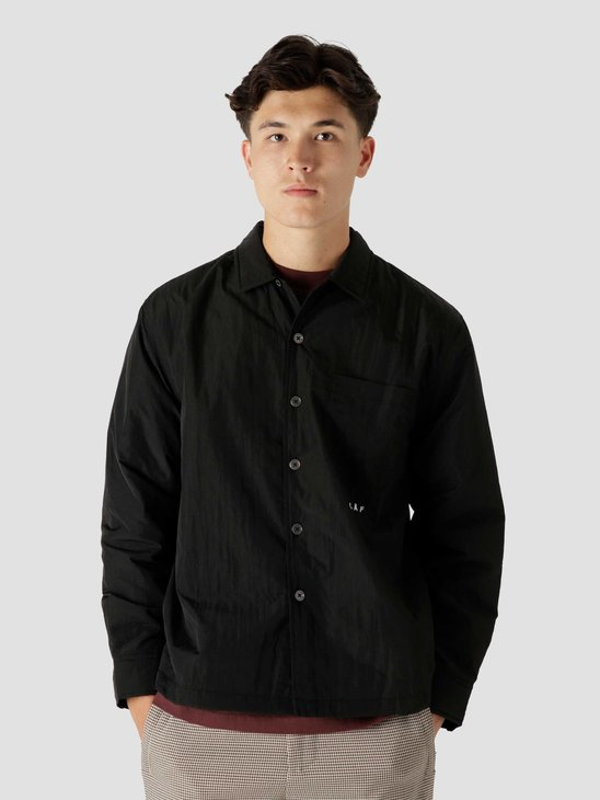 Olaf Hussein OLAF Quilted Overshirt Black