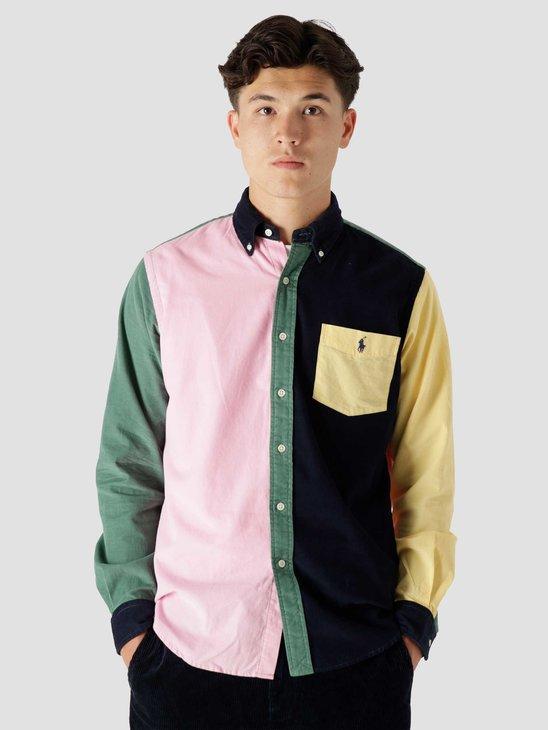 Polo Ralph Lauren 80-2 21W Corduroy Shirt 5414 Multi Fun Shirt 710853145001