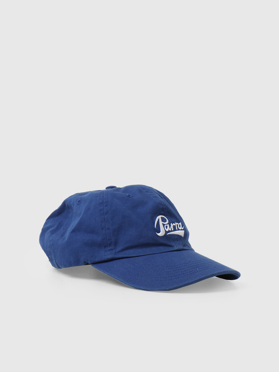 by Parra Pencil Logo 6 Panel Hat Navy Blue  46170