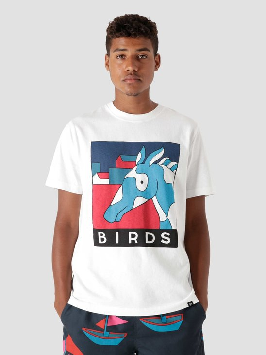 by Parra Horse T-Shirt White  46100