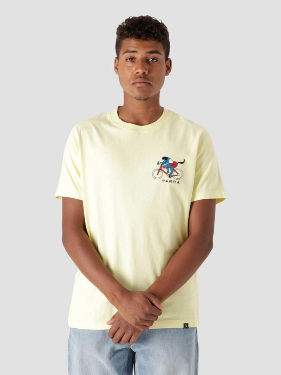 by Parra The Chase T-Shirt Yellow  46120