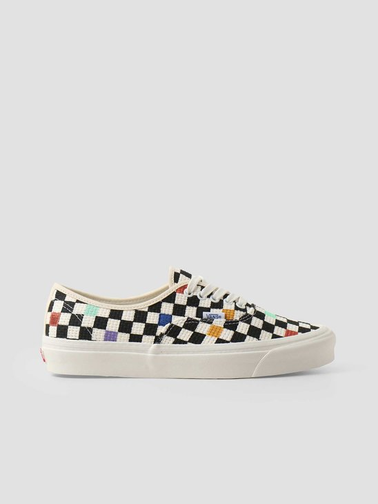 Vans UA Authentic 44 Dx Anaheim Factory Needlepoint Checkerboard VN0A54F29GL1