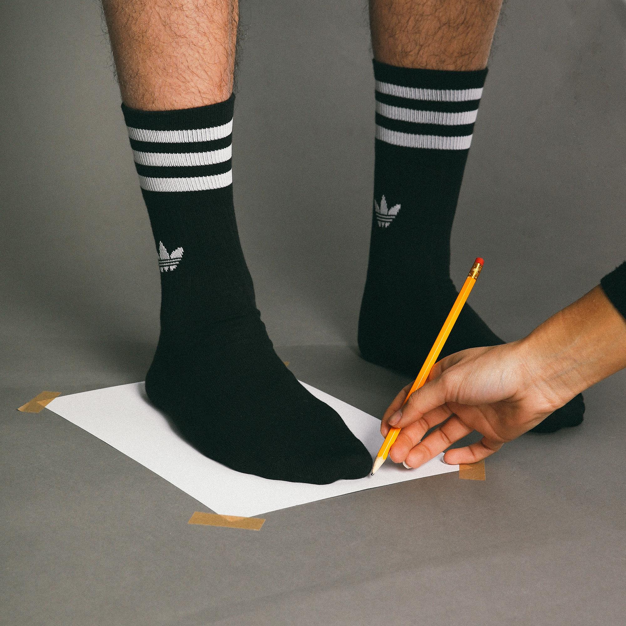 Sneaker sizeguide step 2