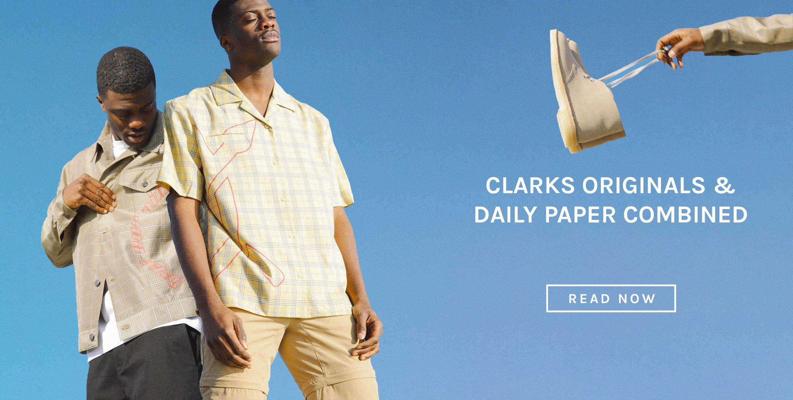 Clarks Originals & Daily Paper