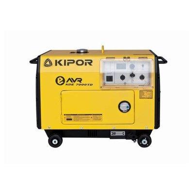 KDE7000TD Generador 4.5 kVA Principal 6 kVA Emergencia