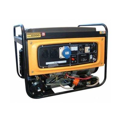 KNGE6000E3 Générateurs 5.5 kVA Continue 7 kVA Secours