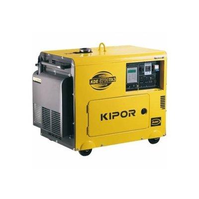 KDE6700TA3 Generador 5.5 kVA Principal 7 kVA Emergencia