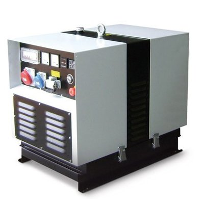 Lombardini MLDX11HC25 Generador 11 kVA Principal 13 kVA Emergencia