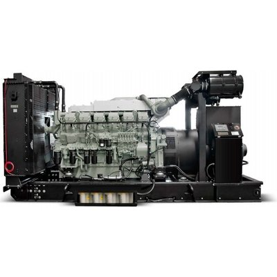 Mitsubishi Mitsubishi MMBD1380P6 Generator Set 1380 kVA Prime 1518 kVA Standby