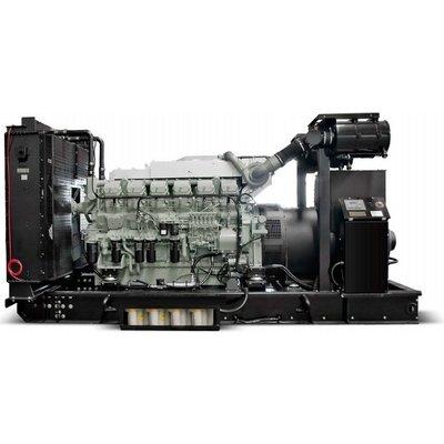Mitsubishi Mitsubishi MMBD1900P17 Generator Set 1900 kVA Prime 2090 kVA Standby