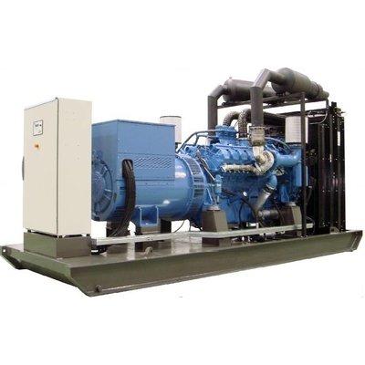 MTU  MMUD1005P13 Generator Set 1005 kVA Prime 1106 kVA Standby
