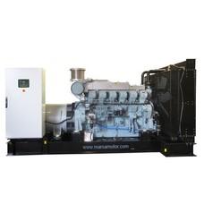 MTU MMUD1250P21 Generator Set 1250 kVA