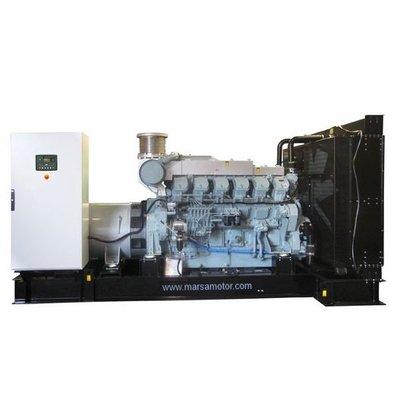 MTU  MMUD1250P21 Generator Set 1250 kVA Prime 1375 kVA Standby