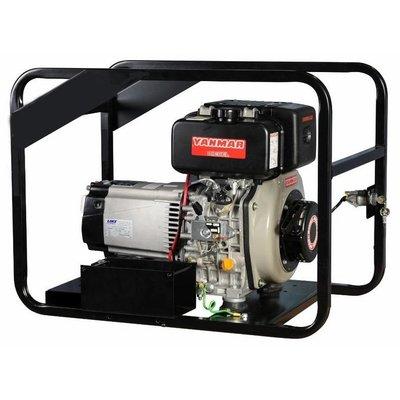Yanmar  MYDX5.9PC9 Generador 5.9 kVA Principal 7 kVA Emergencia