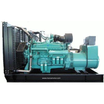 Cummins  MCD500P66 Generador 500 kVA Principal 550 kVA Emergencia