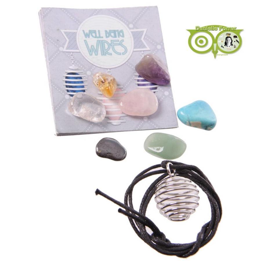 Edelstenen Ketting Kit (maak je eigen ketting)-1