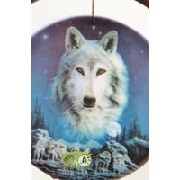 thumb-Dromenvanger 'Wolf Spirit waakt over roedel' Lisa Parker 16 cm-2