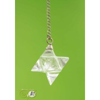 thumb-Pendel Merkaba Bergkristal (12 gram)-1