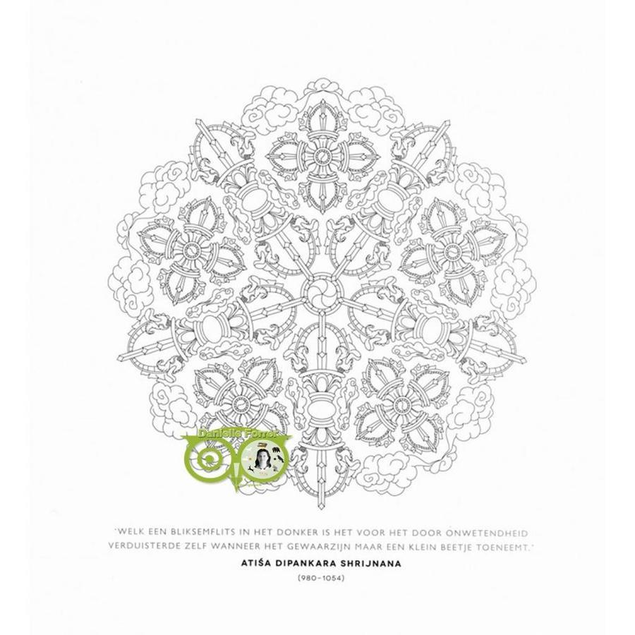 Het mindful mandala kleurboek - Lisa Tenzin-Dolma-6