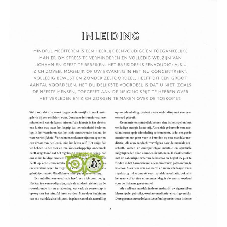 Het mindful mandala kleurboek - Lisa Tenzin-Dolma-8