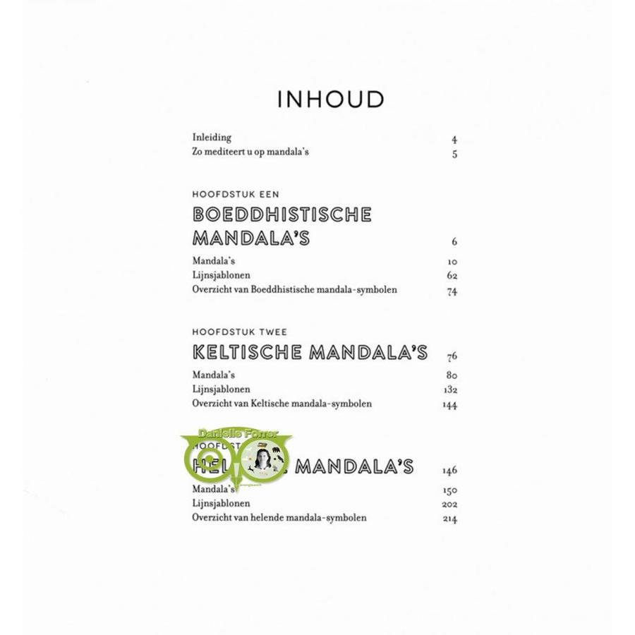 Het mindful mandala kleurboek - Lisa Tenzin-Dolma-9