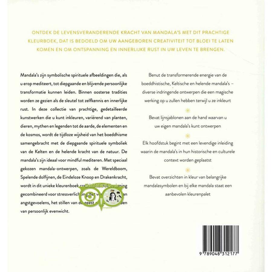 Het mindful mandala kleurboek - Lisa Tenzin-Dolma-10