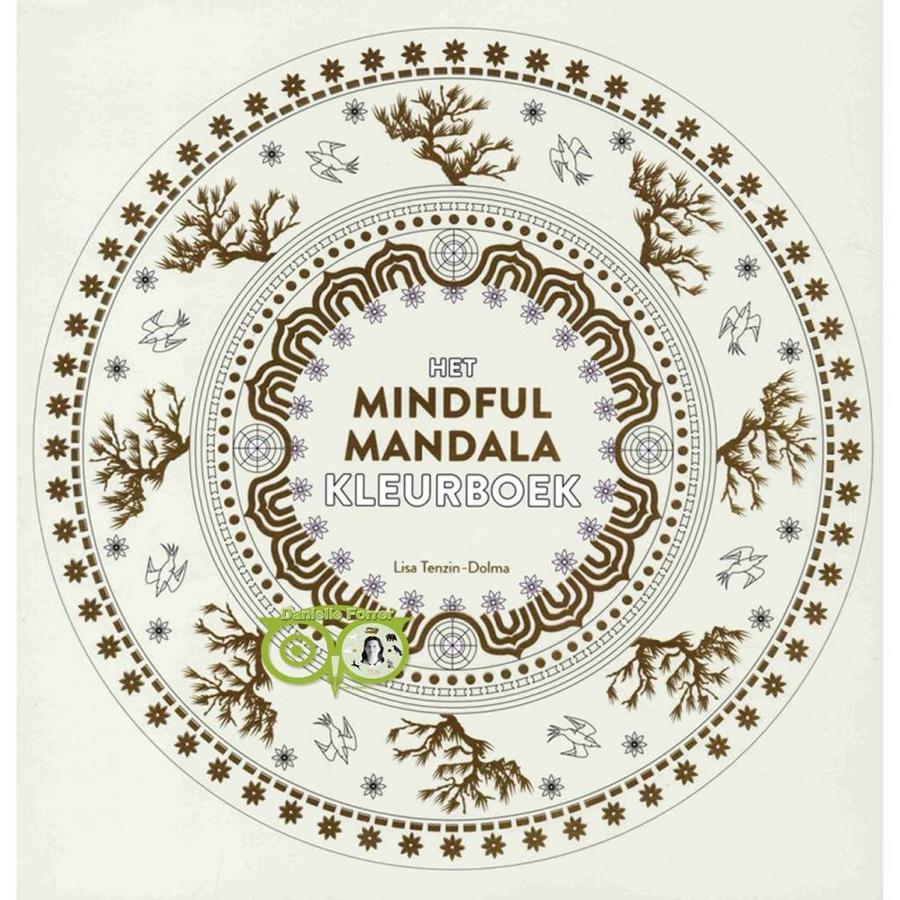 Het mindful mandala kleurboek - Lisa Tenzin-Dolma-1