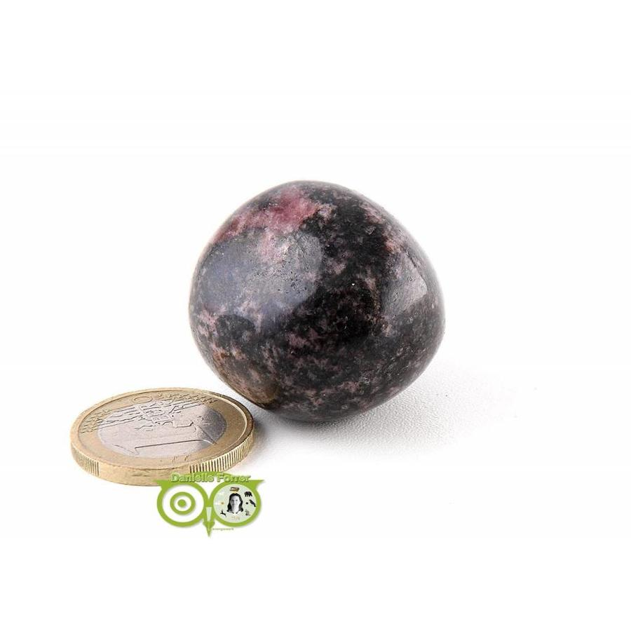 Rhodoniet Knuffelsteen Nr 3 - 58 gram-4