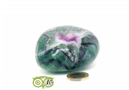 Regenboog Fluoriet Jumbo steen 356 gram