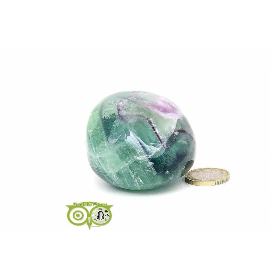 Regenboog Fluoriet Jumbo steen Nr 4 - 356 gram-4