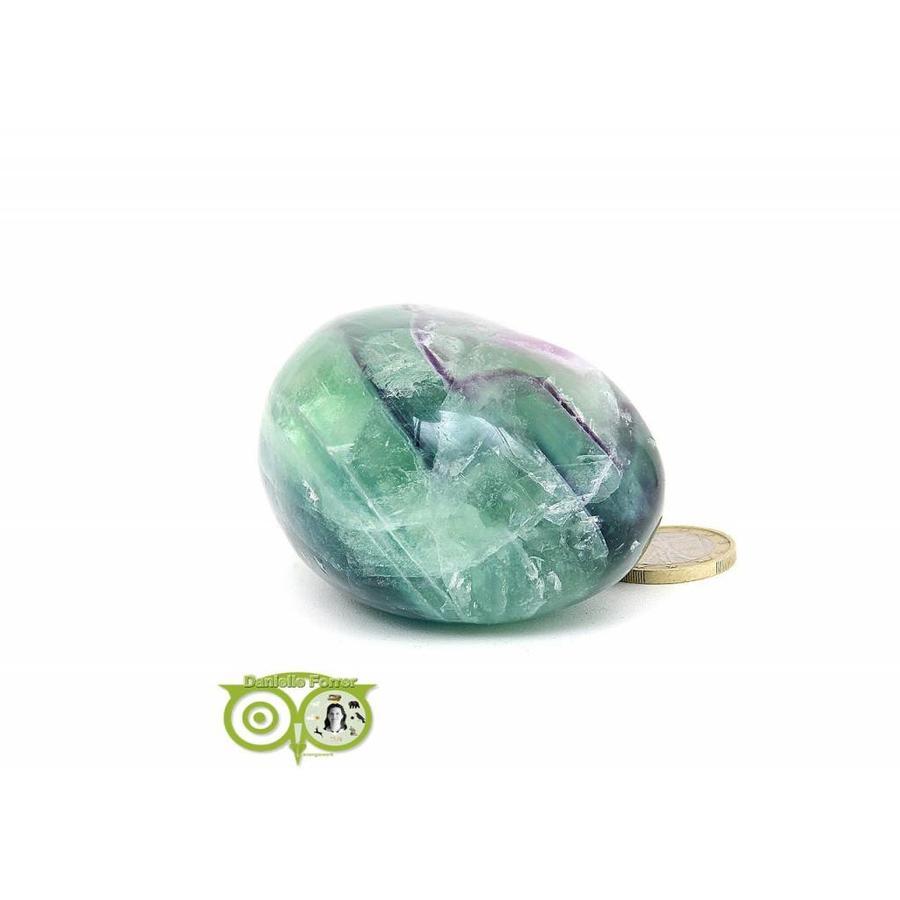 Regenboog Fluoriet Jumbo steen Nr 4 - 356 gram-5