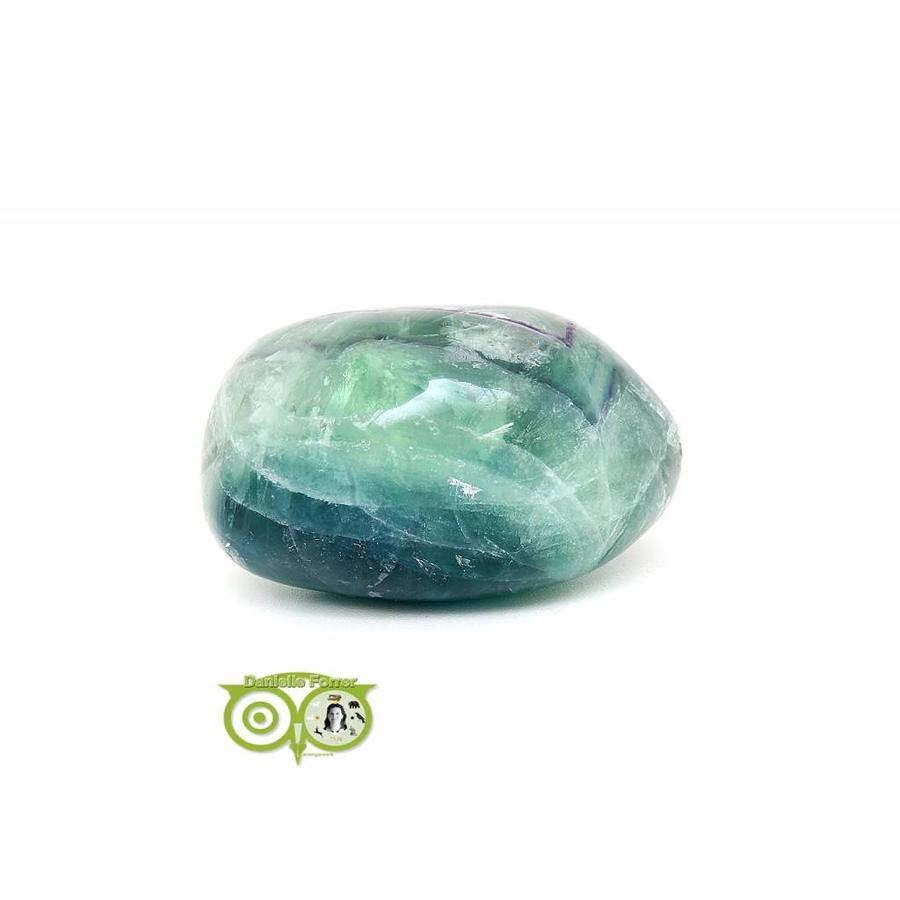 Regenboog Fluoriet Jumbo steen Nr 4 - 356 gram-7
