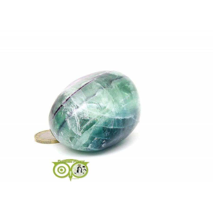 Regenboog Fluoriet Jumbo steen Nr 4 - 356 gram-10