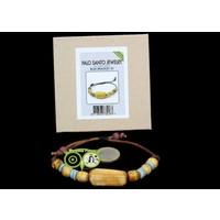 thumb-BLUE BRACELET NR. 001 -  Palo Santo Jewelry-1