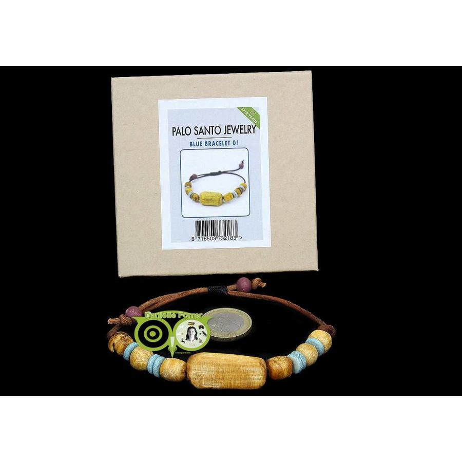 BLUE BRACELET NR. 001 -  Palo Santo Jewelry-1