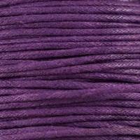 thumb-Waxkoord 1.5 mm Paars / Purple 1,2 mtr-2