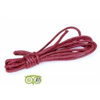 thumb-Waxkoord 1.5 mm Rood / Ruby Red 1,2 mtr-1
