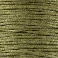 thumb-Waxkoord 1.5 mm Groen / Army Green 1,2 mtr.-2