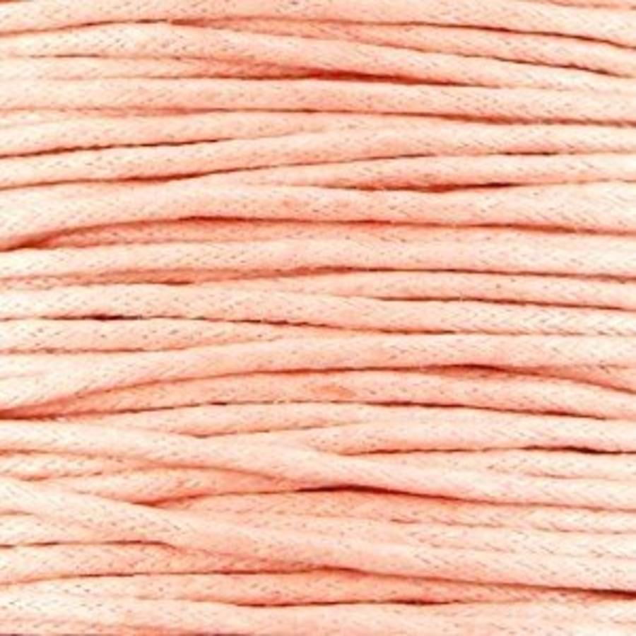 Waxkoord 1.5 mm Perzik / Soft Peach 1,2 mtr.-2
