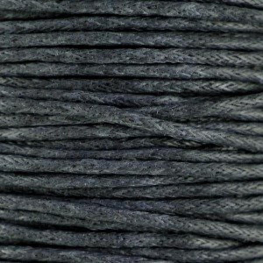Waxkoord 1.5 mm Grijs / Grey 1,2 mtr.-2