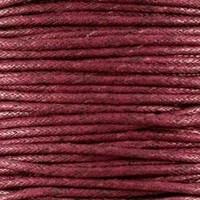 thumb-Waxkoord 1.5 mm Bordeaux-Bruin 1,2 mtr.-2