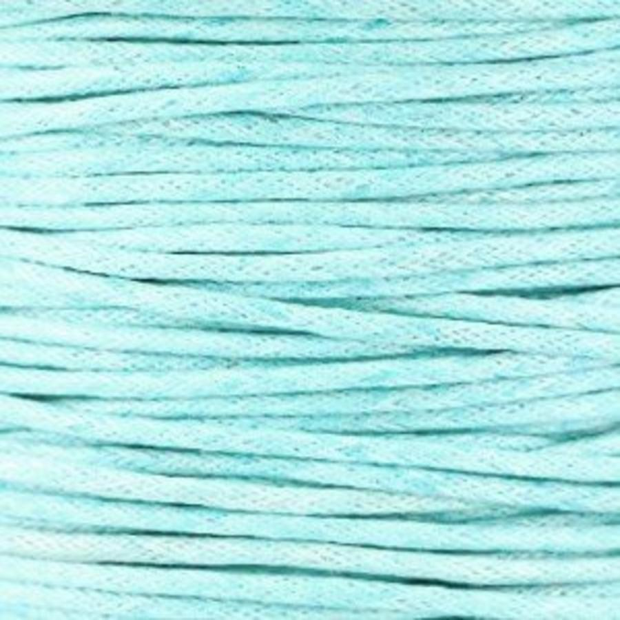 Waxkoord 1.5 mm Light-Aquamarine-Blue 1,2 mtr.-2