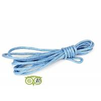 thumb-Waxkoord 1.5 mm Light-Sapphire-Blue 1,2 mtr.-1