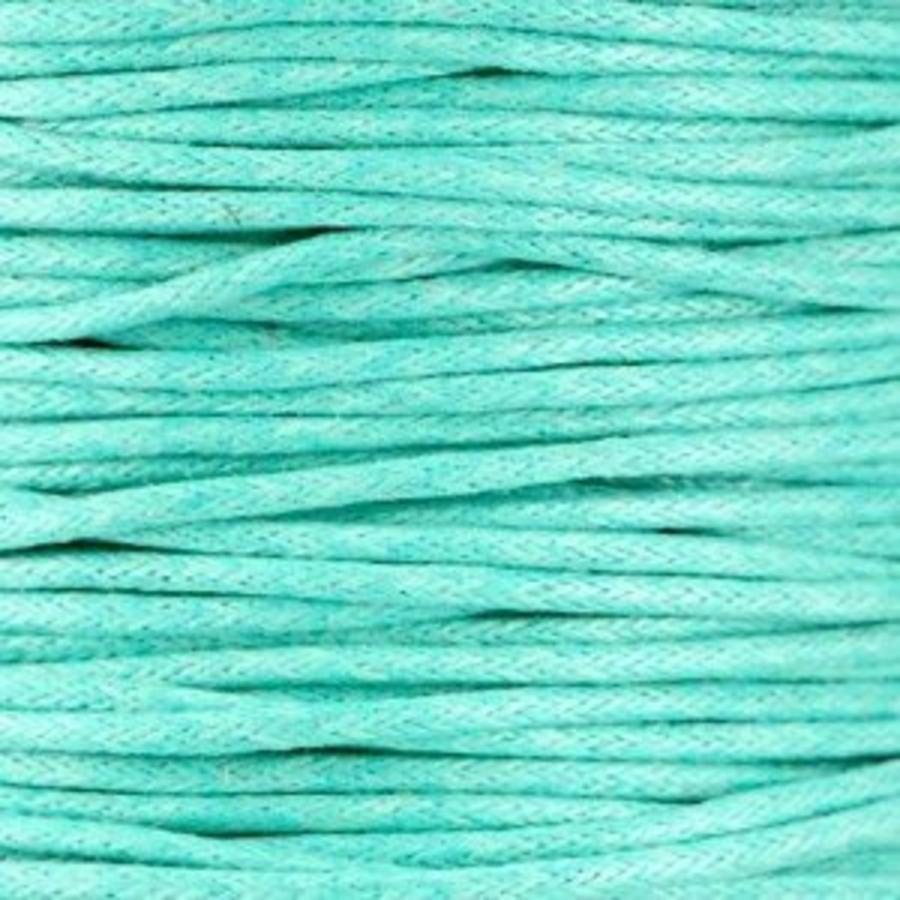 Waxkoord 1.5 mm Turquoise-Mint 1,2 mtr.-2