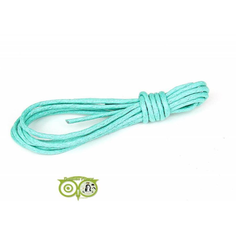 Waxkoord 1.5 mm Turquoise-Mint 1,2 mtr.-1