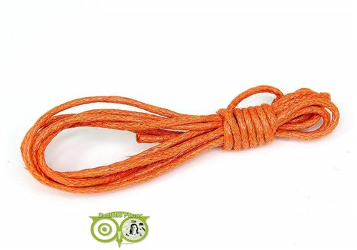 Waxkoord 1.5 mm Warm-Orange 1,2 mtr.