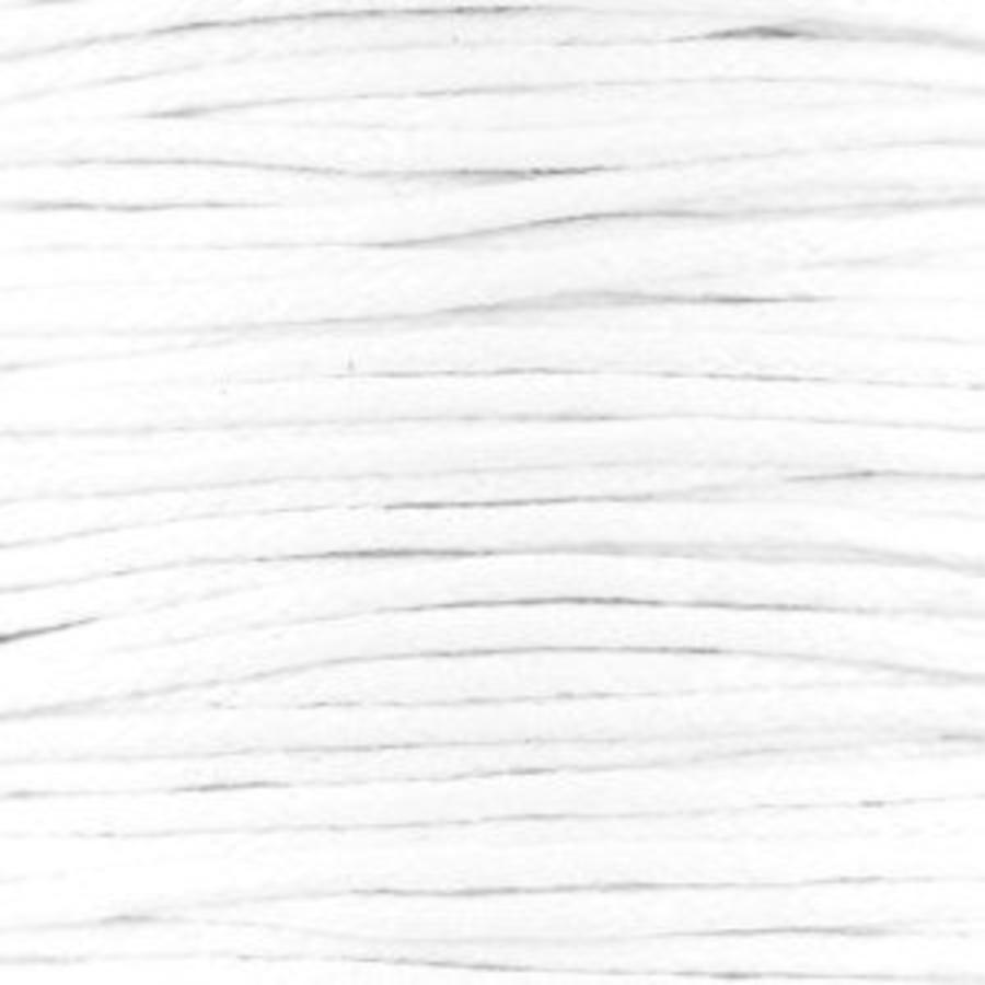 Waxkoord 1.5 mm wit 1,2 mtr.-2