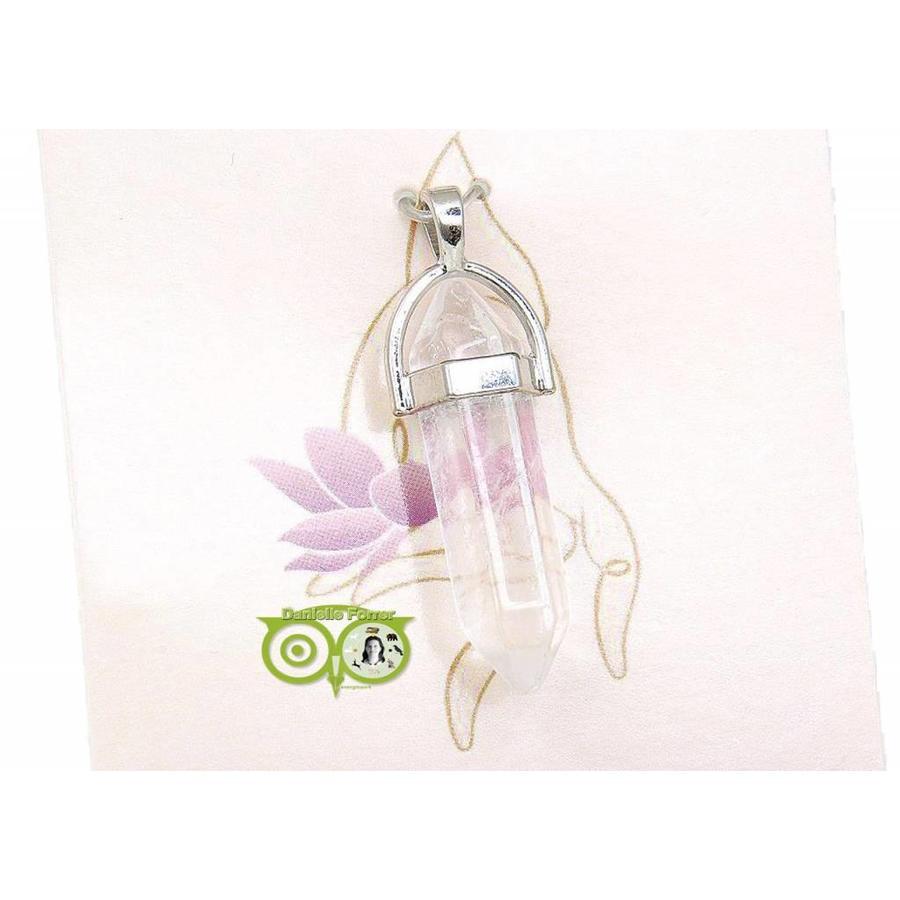 Bergkristal Facet hanger – 4 cm-1