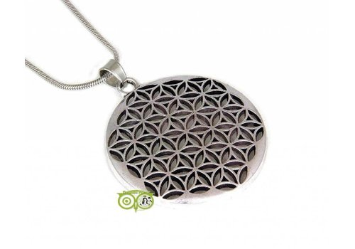 Levensbloem - Flower of life 32 mm hanger