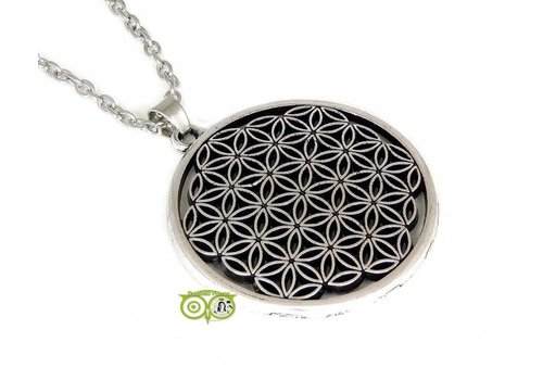 Levensbloem - Flower of life hanger 35 mm hanger